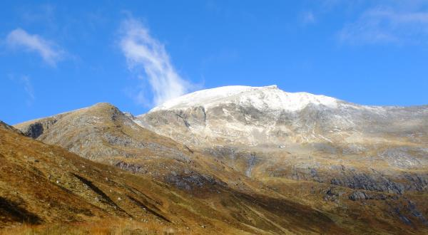 Photo of 970m metre hill on way up with Ben Nevis behind
