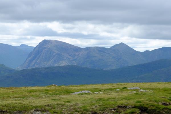 Photo of View across to Buachaille Etive Mor