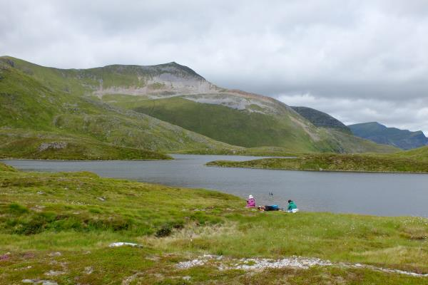 Photo of Lunch stop at Coire an Lochain