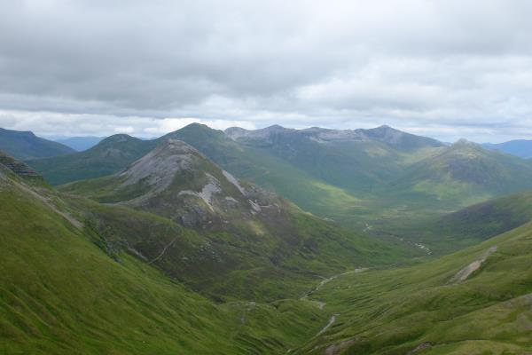 Photo of Binnein Beag with Grey Corries behind