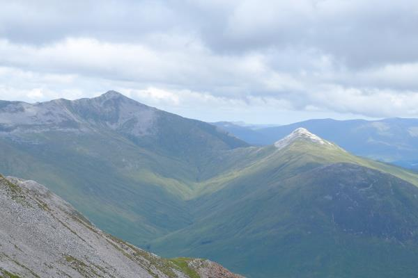 Photo of Stob Ban isolated from Grey Corries