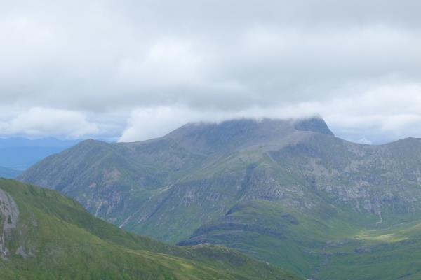 Photo of Top of Ben Nevis obscured by cloud