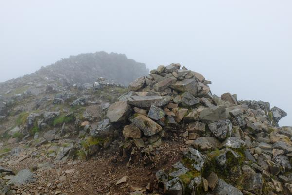 Photo of No views at top of Stob Coire Sgreamhach