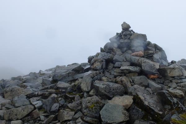 Photo of No views at the top of Bidean nam Bian either