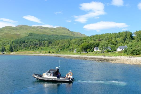 Photo of Ferry departing from Inverie