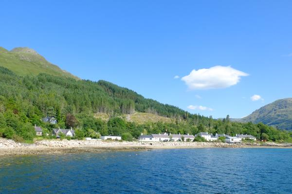 Photo of Inverie sea front