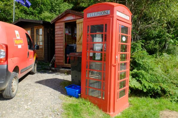 Photo of Small scale sorting office at Inverie