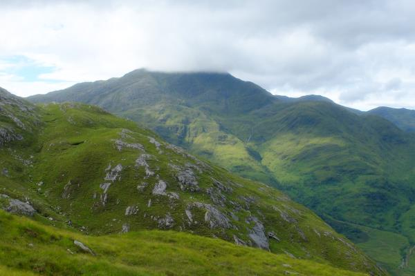 Photo of Top of Luinne Bheinn in cloud