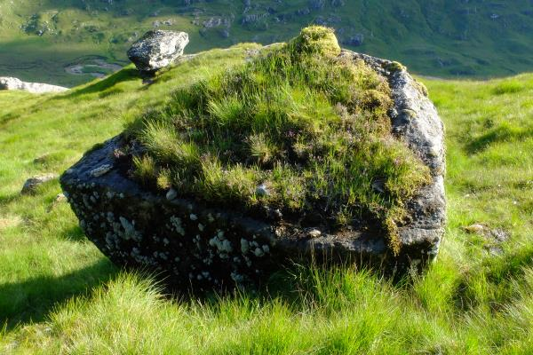 Photo of Rock on lower slopes of Sgurr a' Chlaidheimh