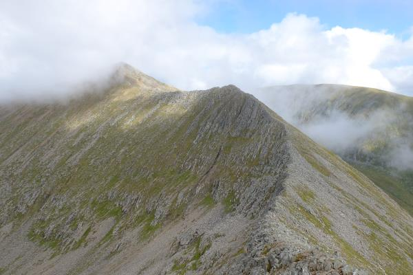 Photo of Looking back at Carn Mor Dearg
