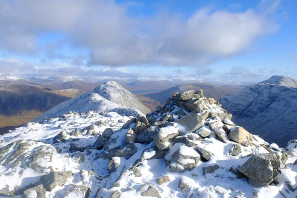 Photo of Looking back at route from Stob Dubh
