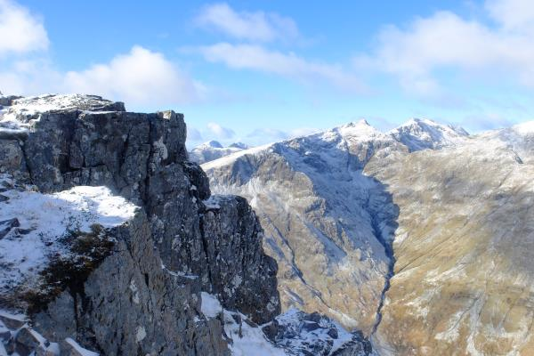 Photo of View to Bidean nam Bian from Stob Dubh