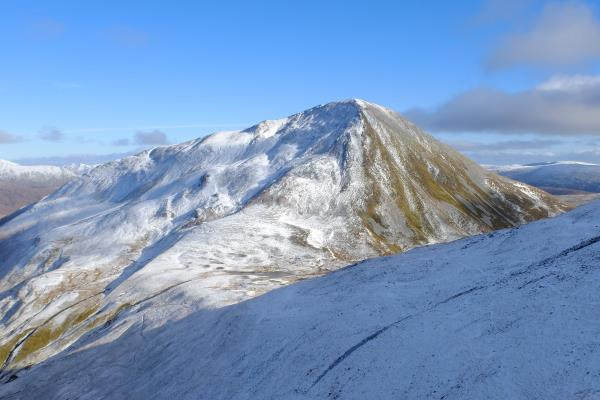 Photo of Looking back at Sgurr Eilde Mor