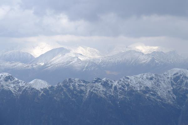 Photo of Looking over to the Mamores and Ben Nevis