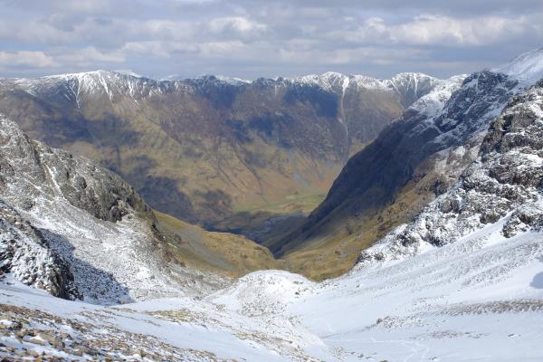 Photo of Looking down to Coire nam Beitheach