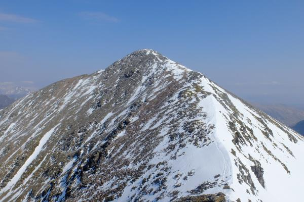 Photo of Looking back to Stob Coire nan Lochan