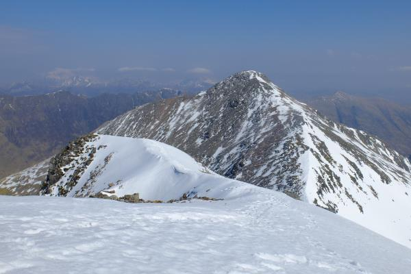 Photo of Looking back at Stob Coire nan Lochan