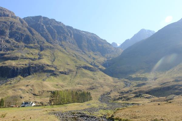 Photo of End of walk after descending Coire nam Beitheach