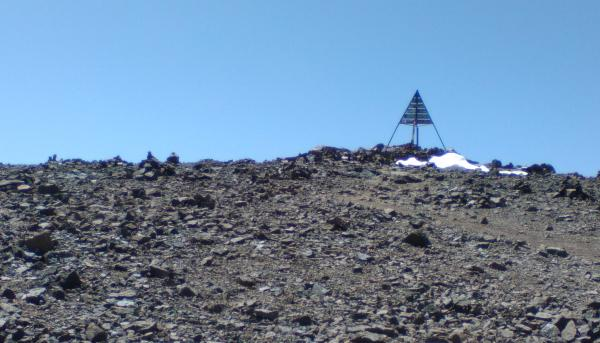 Photo of Summit of Toubkal (4,167m)