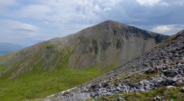 Photo of Looking across to Stob a' Choire Mheadhoin