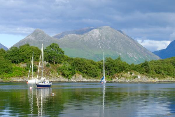 Photo of Looking over Loch Leven to Glen Coe