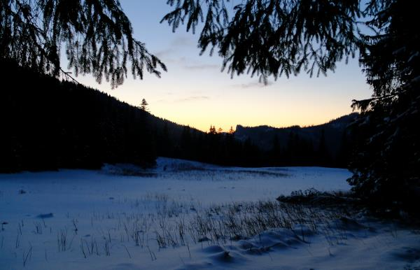Photo of Fading light, soon time for headtorch