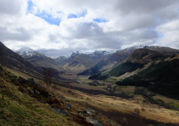 Photo of Looking along Glen Nevis
