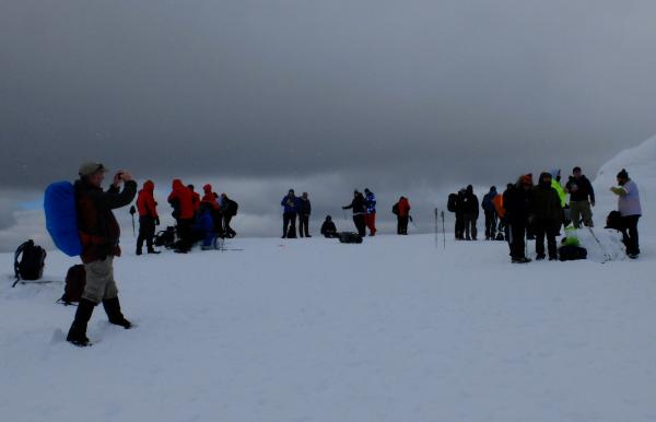 Photo of Busy Ben Nevis summit