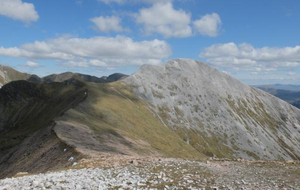 Photo of Looking east to Stob Ban