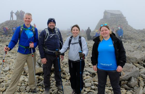 Photo of Group at the top of Ben Nevis