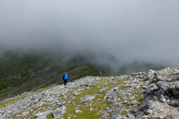 Photo of Leaving Sgurr a' Bhuic