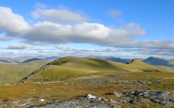 Photo of Looking at Beinn Achaladair ridge