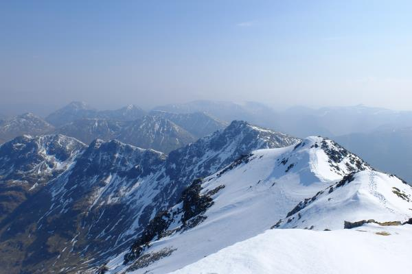 Photo of Looking east from Bidean nam Bian