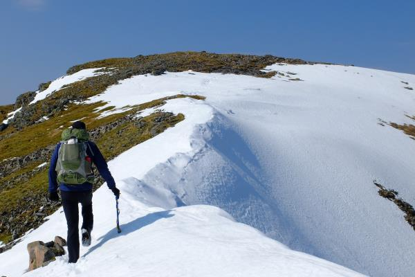 Photo of Approaching second summit of Bidean nam Bian