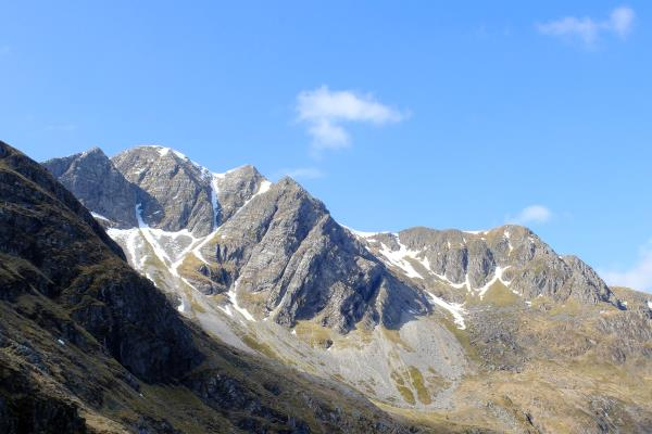 Photo of View of Stob Ban whilst ascending to bealach