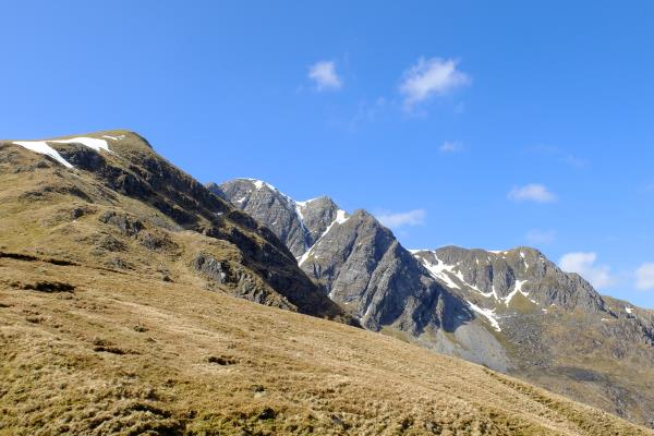 Photo of Starting ascent to Stob Ban