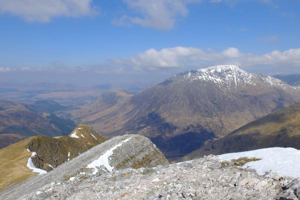 Photo of Looking across to Ben Nevis from top of Stob Ban
