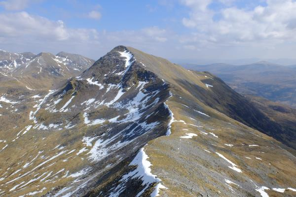 Photo of Am Bodach (Mamores) seen from Sgurr an Iubhair