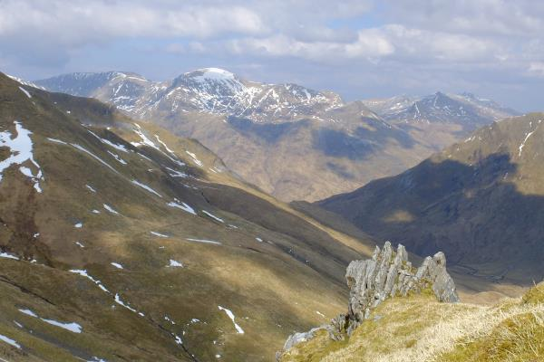 Photo of Looking over to Aonach Beag