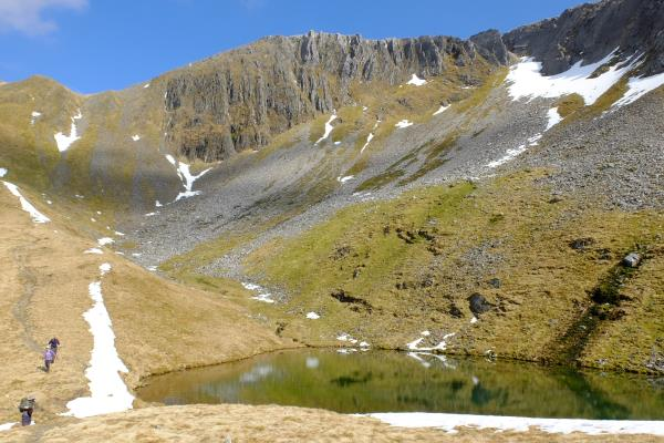 Photo of Lochan below Sgurr an Iubhair