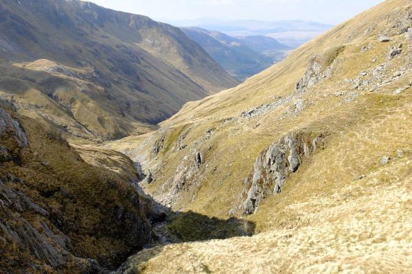 Photo of Looking back down glen