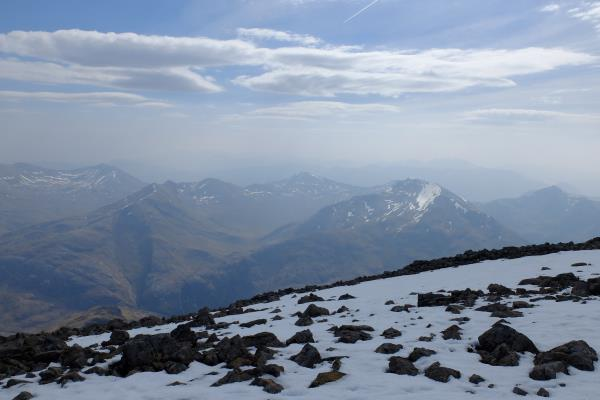 Photo of View over to the Mamores