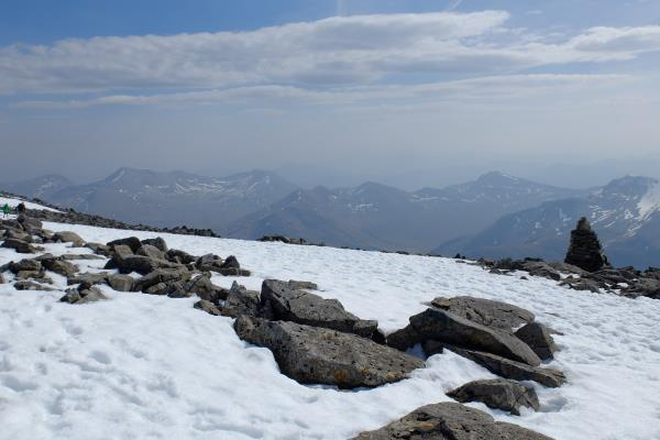 Photo of View of Mamores whilst descending