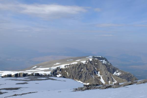 Photo of Carn Dearg seen whilst descending