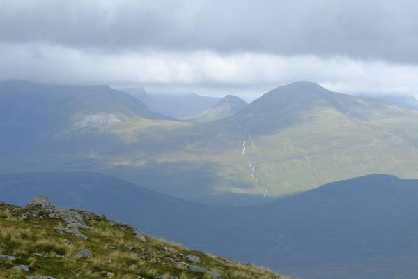 Photo of Looking north across to the Mamores