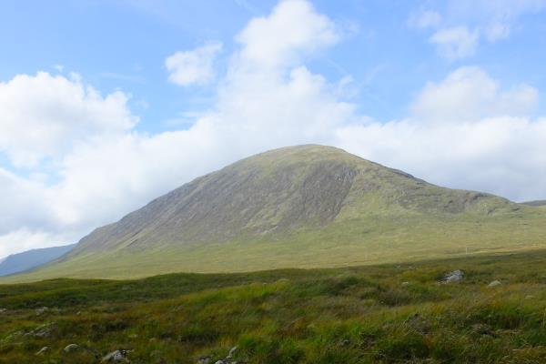 Photo of View of Beinn a Chrulaiste from east at end of walk