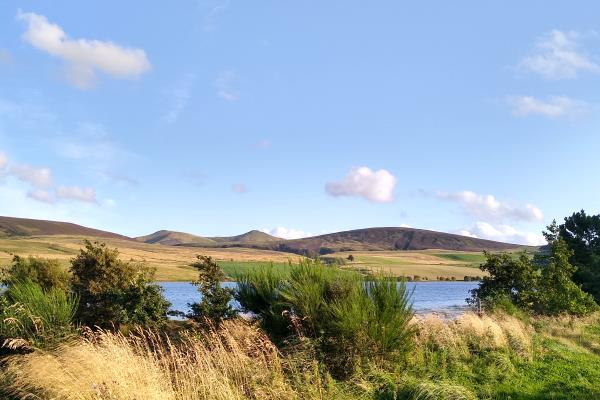 Photo of Looking over Threipmuir Reservoir