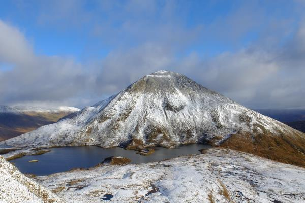Photo of View of Sgurr Eilde Mor taken from Sgor Eilde Beag