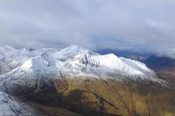 Photo of View to west over Mamores