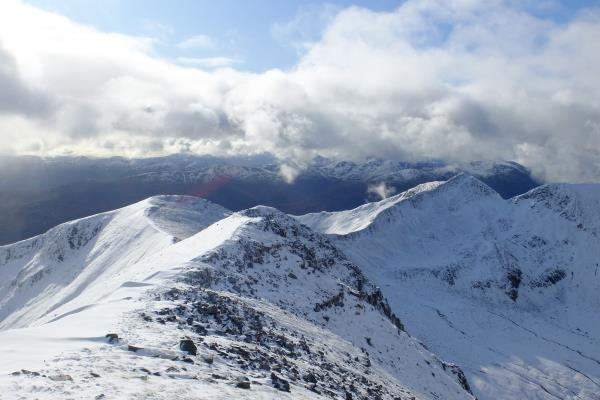 Photo of Looking back on way to Binnein Mor
